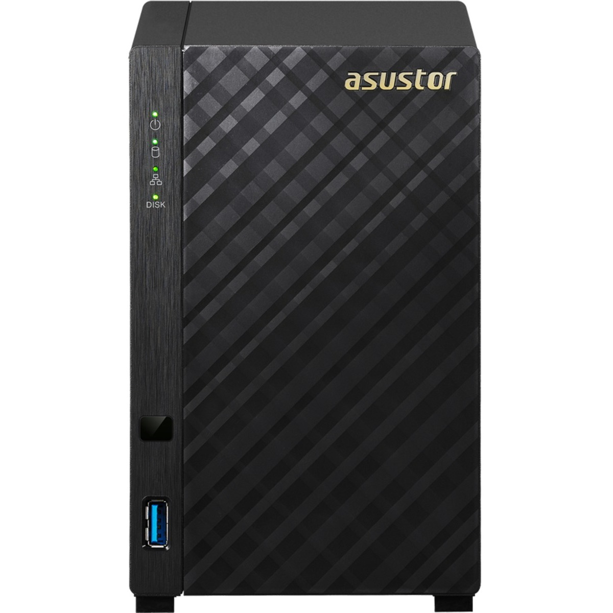 buy $535 ASUSTOR AS1002T v2 12tb Desktop NAS - Network Attached Storage Device 2x6000gb Western Digital Red WD60EFAX 3.5 IntelliPower SATA 6Gb/s HDD NAS Class Drives Installed - Burn-In Tested - nas headquarters buy network attached storage server device das new raid-5 free shipping usa inventory clearance sale happening now AS1002T v2