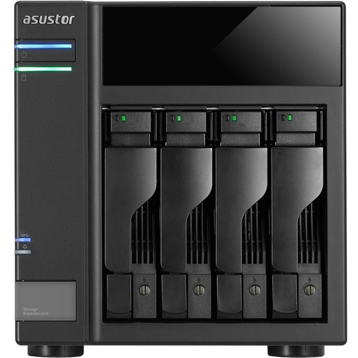 buy $658 ASUSTOR AS6004U 8tb Desktop Expansion Enclosure 4x2000gb Seagate IronWolf ST2000VN004 3.5 5900rpm SATA 6Gb/s HDD NAS Class Drives Installed - Burn-In Tested - nas headquarters buy network attached storage server device das new sale raid-5 free shipping usa AS6004U