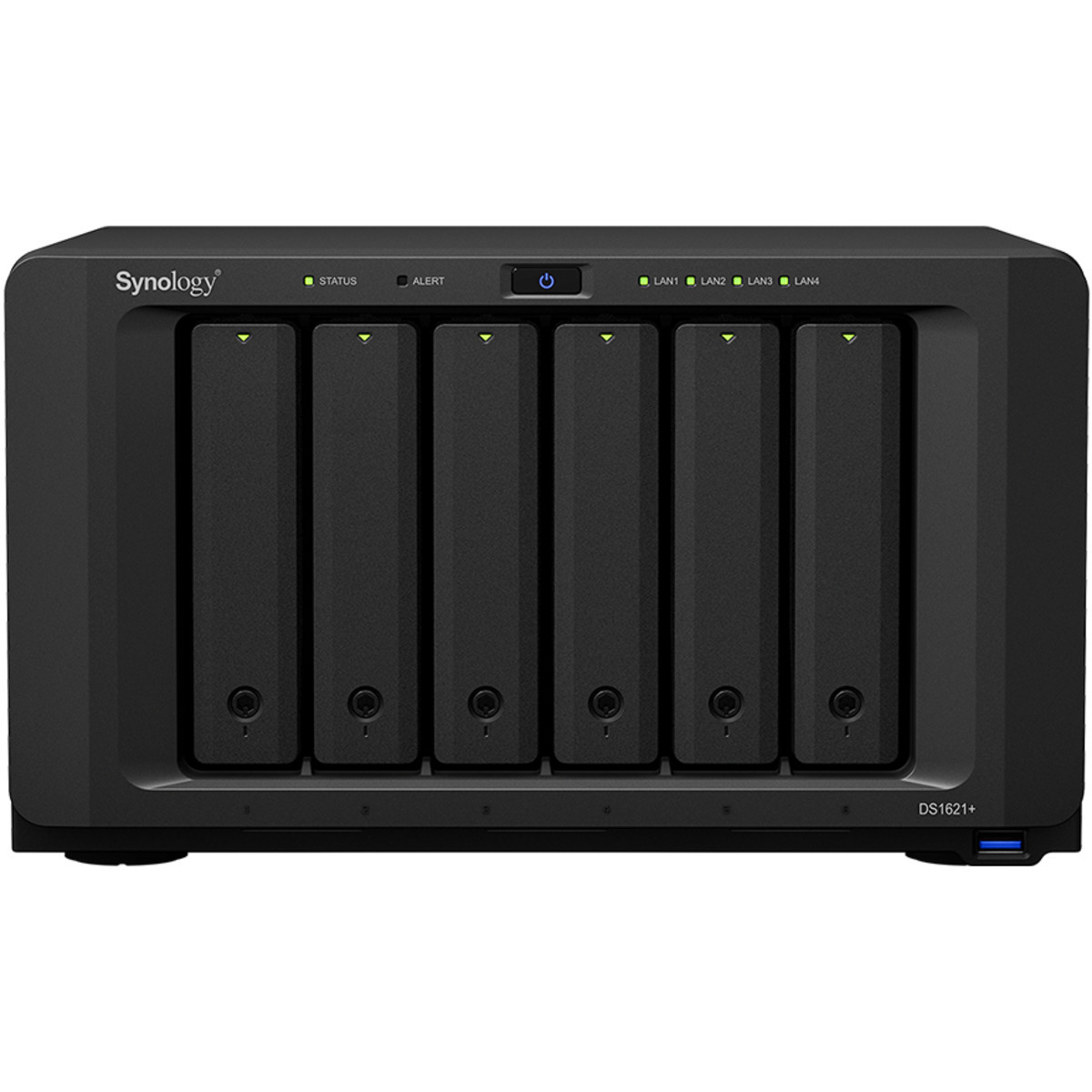 buy $1605 Synology DiskStation DS1621+ 6tb Desktop NAS - Network Attached Storage Device 6x1000gb Crucial MX500 CT1000MX500SSD1 2.5 SATA 6Gb/s SSD CONSUMER Class Drives Installed - Burn-In Tested - ON SALE - nas headquarters buy network attached storage server device das new raid-5 free shipping usa holiday new year clearance sale DiskStation DS1621+
