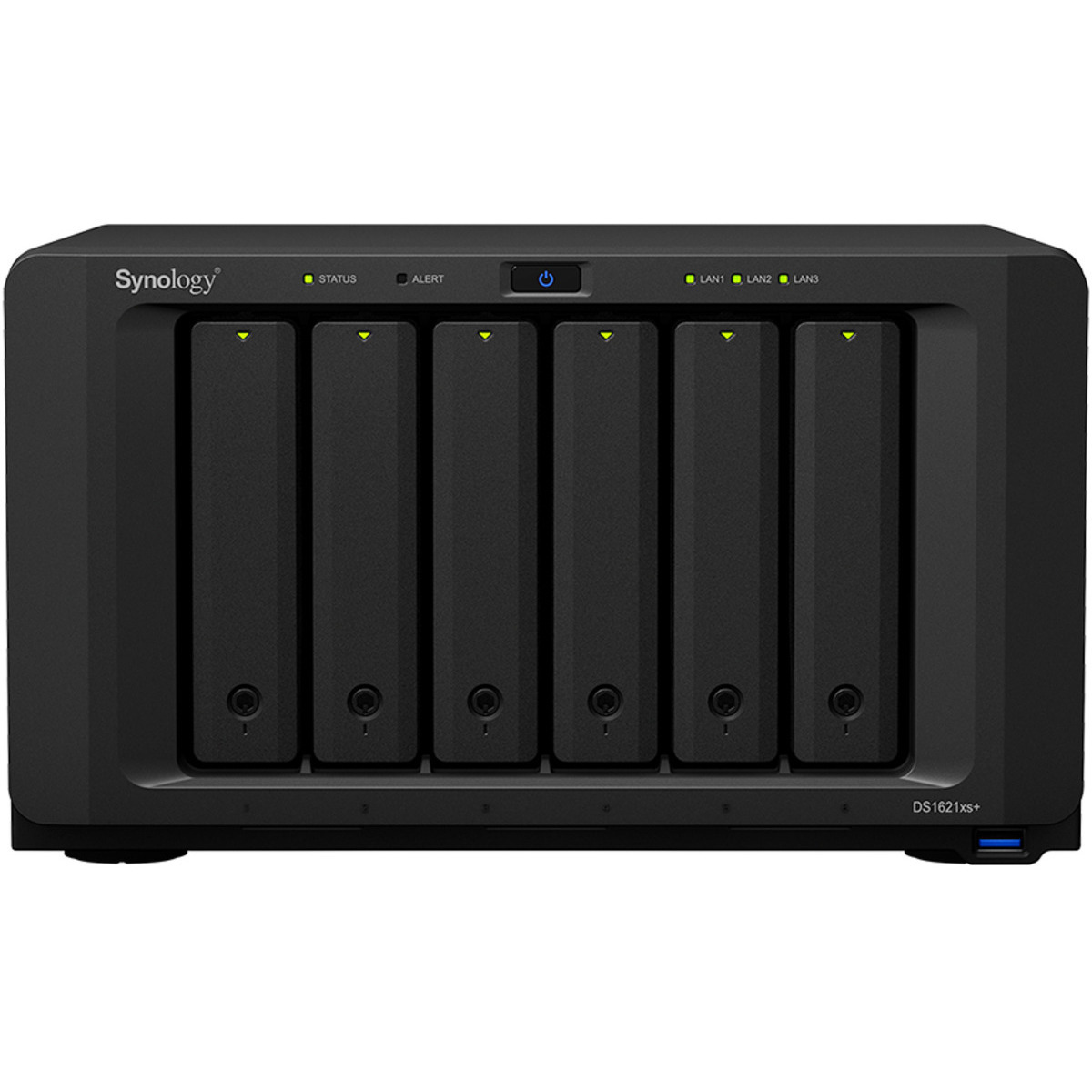 buy $2244 Synology DiskStation DS1621xs+ 1.5tb Desktop NAS - Network Attached Storage Device 6x250gb Western Digital Blue WDS250G2B0A 2.5 SATA 6Gb/s SSD CONSUMER Class Drives Installed - Burn-In Tested - nas headquarters buy network attached storage server device das new raid-5 free shipping usa holiday new year clearance sale DiskStation DS1621xs+