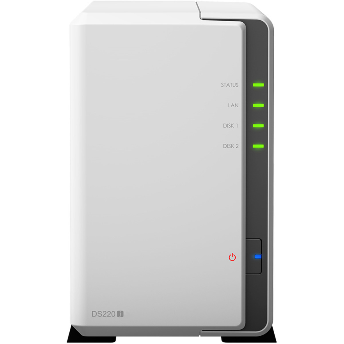 buy $404 Synology DiskStation DS220j 8tb Desktop NAS - Network Attached Storage Device 2x4000gb Seagate BarraCuda ST4000DM004 3.5 7200rpm SATA 6Gb/s HDD CONSUMER Class Drives Installed - Burn-In Tested - nas headquarters buy network attached storage server device das new raid-5 free shipping usa holiday new year clearance sale DiskStation DS220j