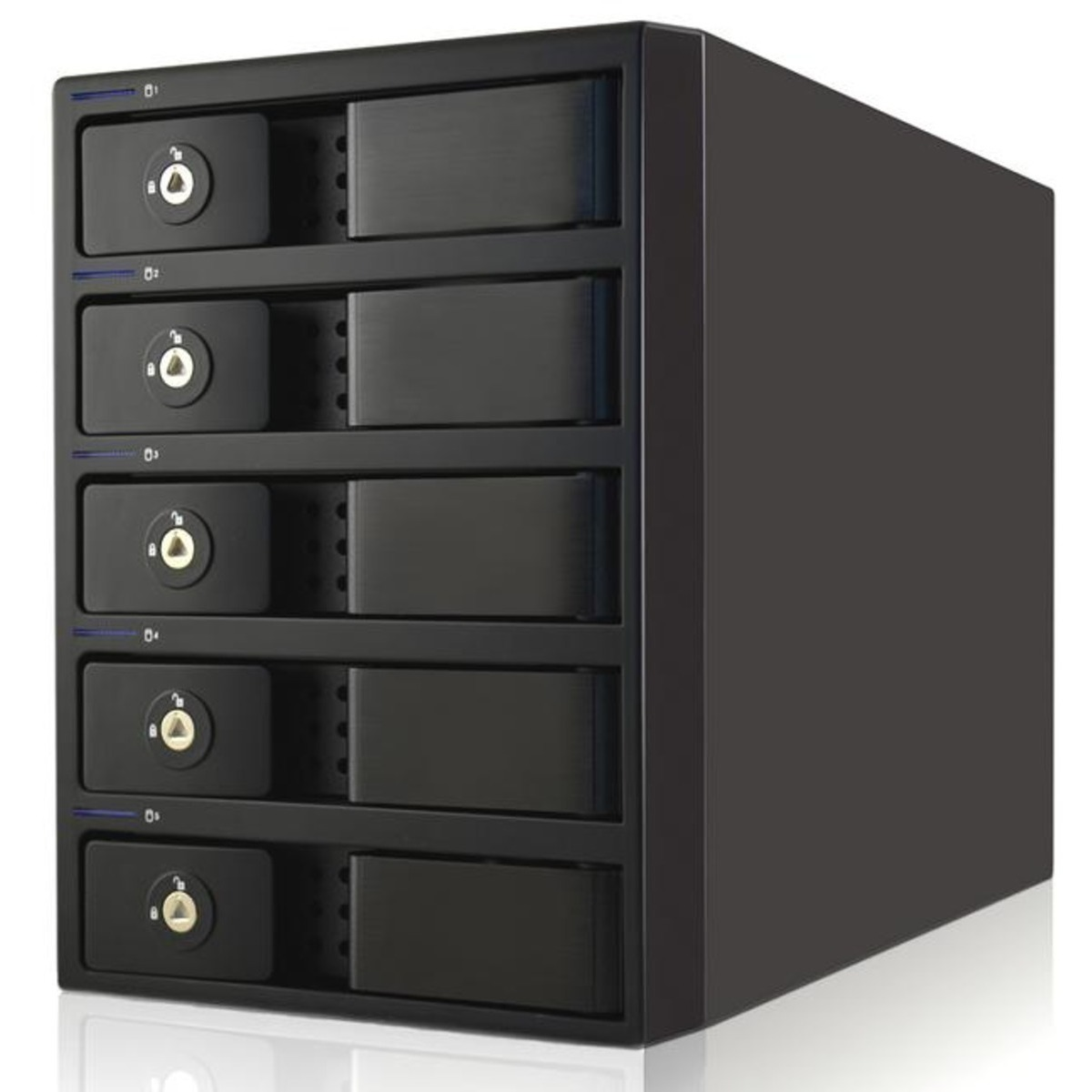 buy $621 OYEN Mobius FireWire 800 eSATA USB 3.0 RAID 10tb Desktop DAS - Direct Attached Storage Device 5x2000gb Western Digital Blue WD20EZRZ 3.5 5400rpm SATA 6Gb/s HDD CONSUMER Class Drives Installed - Burn-In Tested - nas headquarters buy network attached storage server device das new sale raid-5 free shipping usa Mobius FireWire 800 eSATA USB 3.0 RAID