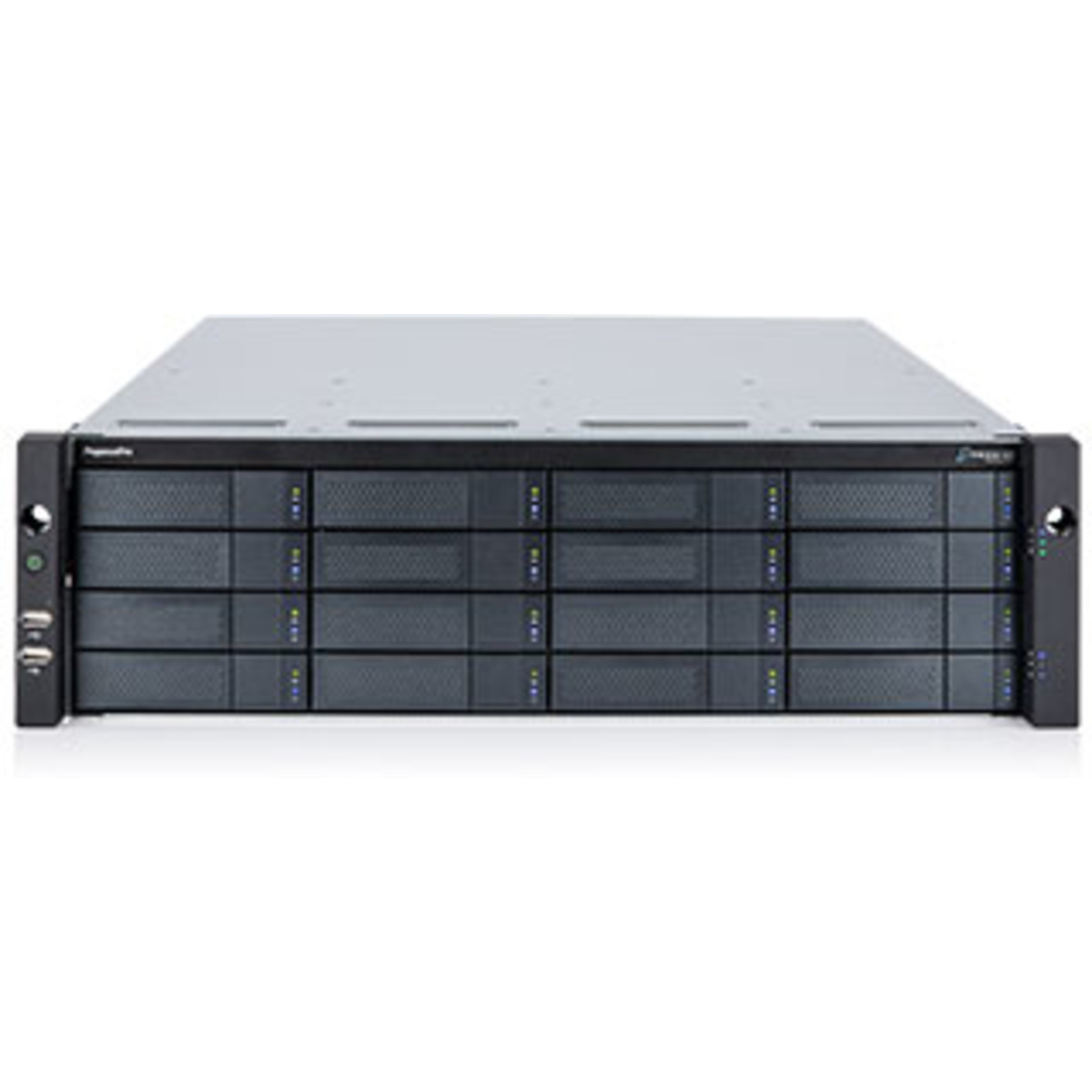 buy $13327 Promise Technology PegasusPro R16 30tb RackMount DAS-NAS - Combo Direct + Network Storage Device 15x2000gb Crucial MX500 CT2000MX500SSD1 2.5 SATA 6Gb/s SSD CONSUMER Class Drives Installed - Burn-In Tested - ON SALE - nas headquarters buy network attached storage server device das new raid-5 free shipping usa holiday new year clearance sale PegasusPro R16