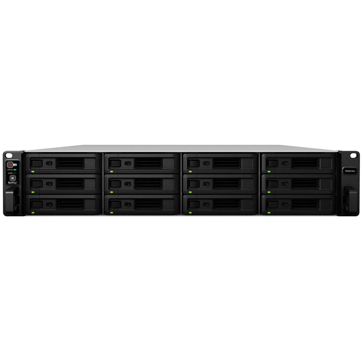 buy $5718 Synology RackStation RS3618xs 66tb RackMount NAS - Network Attached Storage Device 11x6000gb Seagate IronWolf Pro ST6000NE000 3.5 7200rpm SATA 6Gb/s HDD NAS Class Drives Installed - Burn-In Tested - nas headquarters buy network attached storage server device das new raid-5 free shipping usa inventory clearance sale happening now RackStation RS3618xs