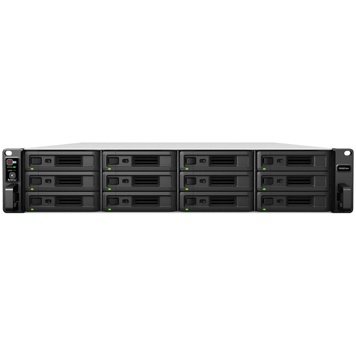 buy $6761 Synology RackStation RS3621xs+ 12tb RackMount NAS - Network Attached Storage Device 12x1000gb Crucial MX500 CT1000MX500SSD1 2.5 SATA 6Gb/s SSD CONSUMER Class Drives Installed - Burn-In Tested - nas headquarters buy network attached storage server device das new raid-5 free shipping usa holiday new year clearance sale RackStation RS3621xs+