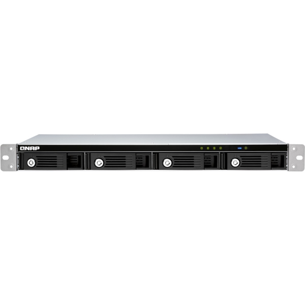 buy $2143 QNAP TR-004U External Expansion Drive 40tb RackMount Expansion Enclosure 4x10000gb Seagate BarraCuda Pro ST10000DM0004 3.5 7200rpm SATA 6Gb/s HDD CONSUMER Class Drives Installed - Burn-In Tested - nas headquarters buy network attached storage server device das new raid-5 free shipping usa holiday new year clearance sale TR-004U External Expansion Drive
