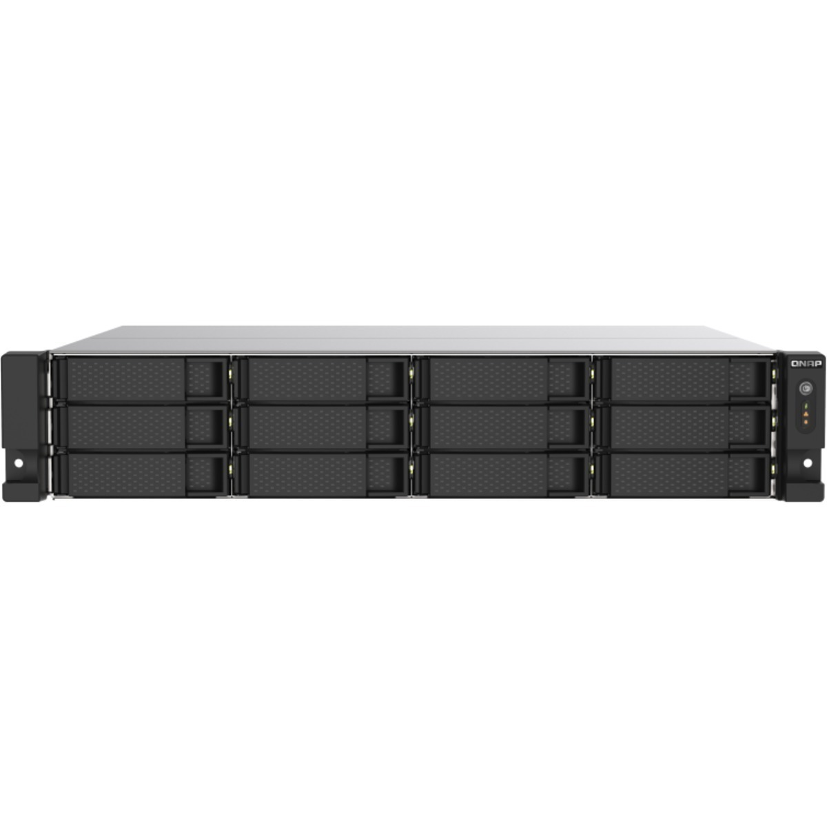 buy $4300 QNAP TS-1273AU-RP 72tb RackMount NAS - Network Attached Storage Device 12x6000gb Seagate BarraCuda ST6000DM003 3.5 5400rpm SATA 6Gb/s HDD CONSUMER Class Drives Installed - Burn-In Tested - ON SALE - FREE RAM UPGRADE - nas headquarters buy network attached storage server device das new raid-5 free shipping usa holiday new year clearance sale TS-1273AU-RP