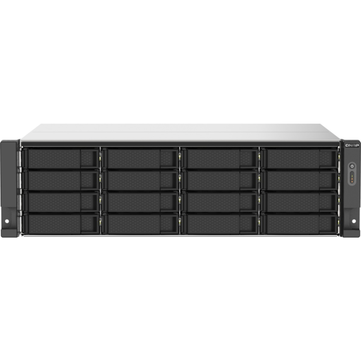 buy $4804 QNAP TS-1673AU-RP 64tb RackMount NAS - Network Attached Storage Device 16x4000gb Toshiba MD04ACA Series MD04ACA400 3.5 7200rpm SATA 6Gb/s HDD CONSUMER Class Drives Installed - Burn-In Tested - ON SALE - FREE RAM UPGRADE - nas headquarters buy network attached storage server device das new raid-5 free shipping usa black friday cyber monday week month christmas holiday sale TS-1673AU-RP