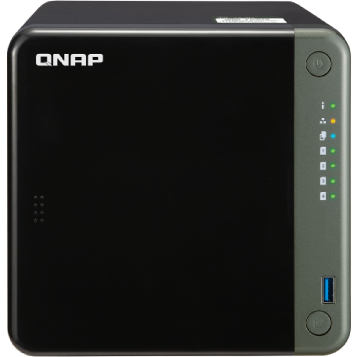 buy $2402 QNAP TS-453D 56tb Desktop NAS - Network Attached Storage Device 4x14000gb Western Digital Red Plus WD140EFFX 3.5 7200rpm SATA 6Gb/s HDD NAS Class Drives Installed - Burn-In Tested - ON SALE - FREE RAM UPGRADE - nas headquarters buy network attached storage server device das new raid-5 free shipping usa holiday new year clearance sale TS-453D